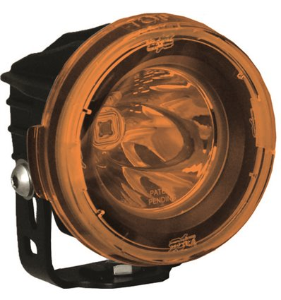 PCV-OPR1Y - VisionX Light Cover Optimus Round Halo Spot Yellow - in-parts