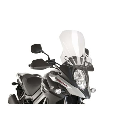 9719W - Puig Vidro Touring V-Strom 650 (17-18) Clear - in-parts