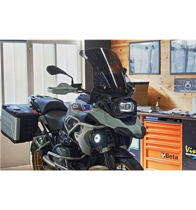 In-KitHalo - In-Parts Kit Faróis VisionX HALO c/Cablagem e Suporte R1200GS/A LC -
