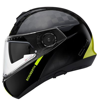 - SCHUBERTH Capacete C4 Pro Carbon - Fusion YelloW - in-parts