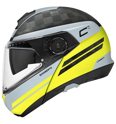- SCHUBERTH Capacete C4 Pro Carbon - Tempest Yellow - in-parts