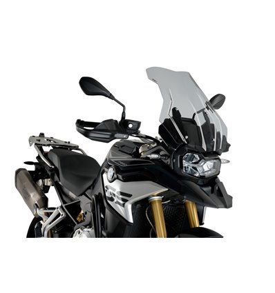 3595H - Puig Touring Plus Windshield - F850GS - Smoke - in-parts