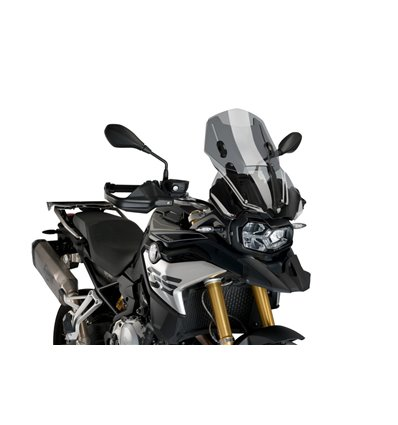 3179H - Puig Adjustable Touring Windshield - F850GS - Smoked - in-parts