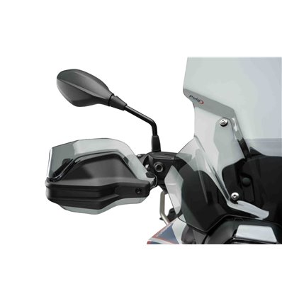 3763W - Puig Handguards - F850GS (2018) - Smoked - in-parts