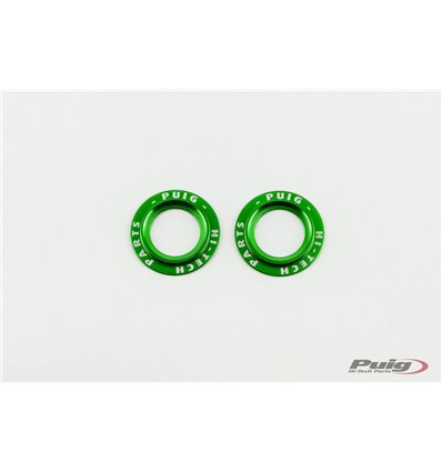 20025V - Puig Decorative Front Fork Protector Rings - F850GS (2018) - Black - in-parts
