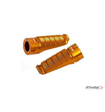 6301O - Puig Racing Footpegs - F850GS (2018) - Golden - in-parts