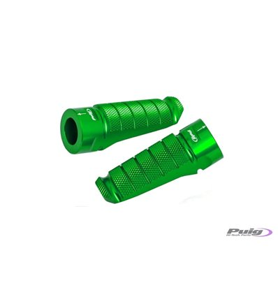 6301V - Puig Racing Footpegs - F850GS (2018) - Green - in-parts