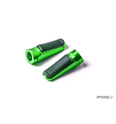 7318V - Puig Sport Footpegs - F850GS (2018) - Green - in-parts