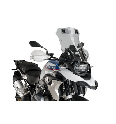 6504H - Puig Sport Windshield w/ Visor R1250GS - Smoked - in-parts