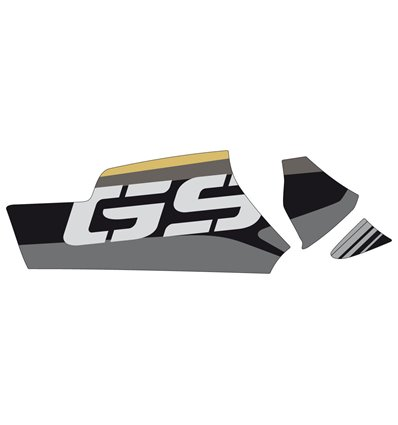20153O - Puig Swing Arm Protector - R1250GS - Black - in-parts